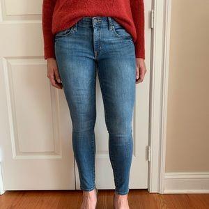 Gap Mid Rise Legging Skimmer Jeans